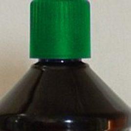 huile de paraffine verte