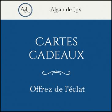 Cartes cadeaux Algan de Lux
