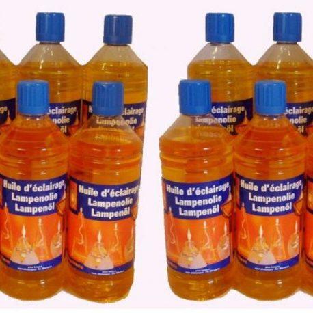 huile de paraffine jaune